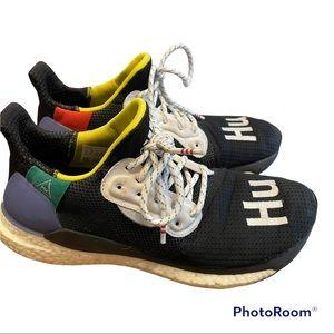 Adidas x Pharrell Solar Glide boost HU shoes size 8